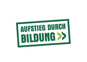Logo: Aufstieg durch Bildung
