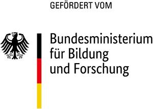 Logo: gefördert vom Bundesministerium für Bildung und Forschung